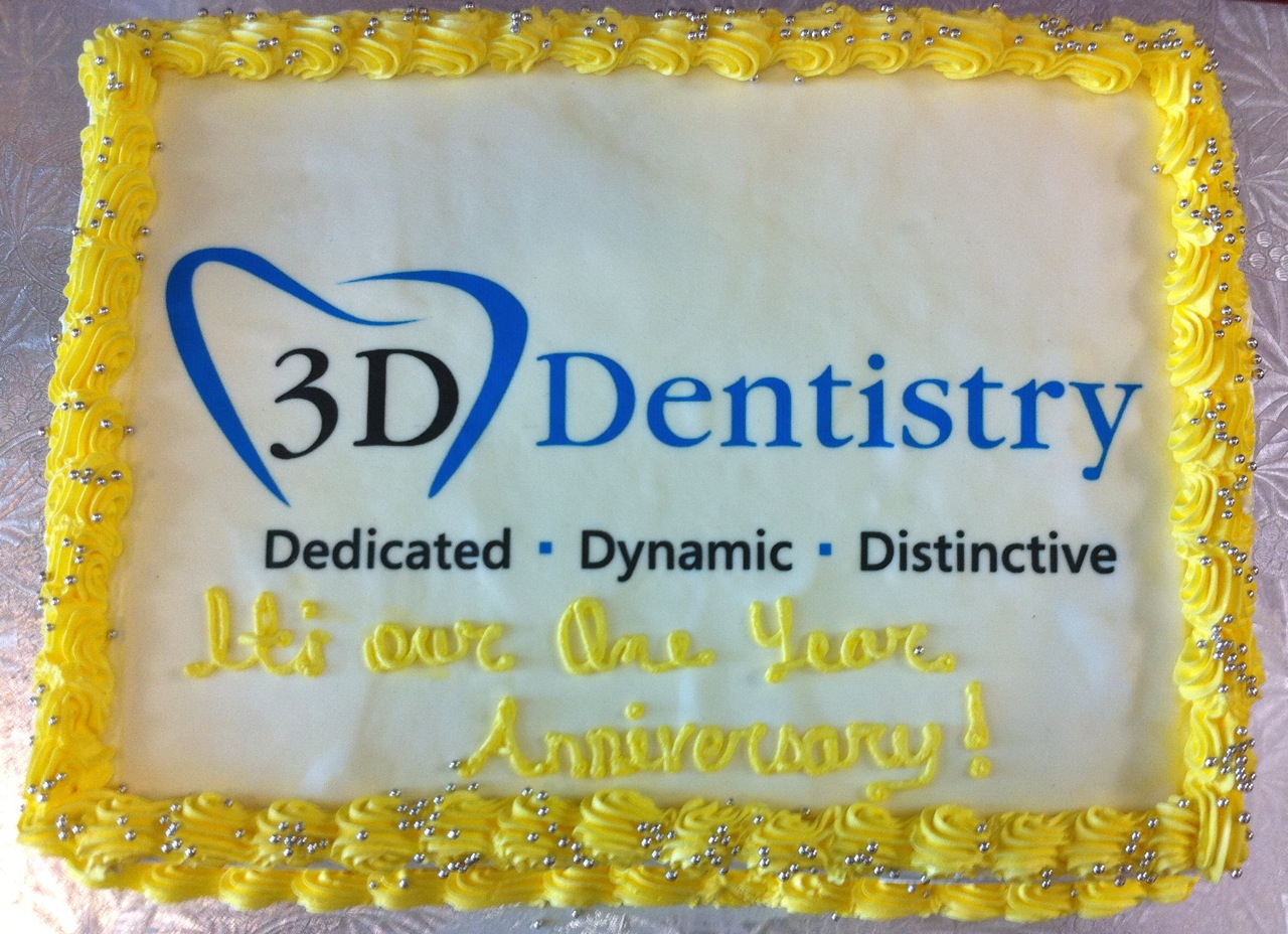 D dentistry s first anniversary cherry blossom